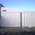capannoni mobili con telo pvc
